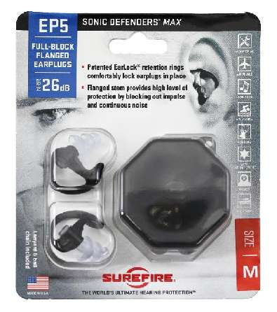 Беруши Surefire EP5 Sonic Defender Ear Protection M