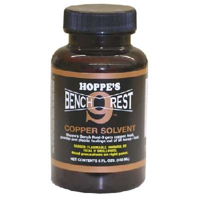 Солвент Hoppes No.9 BENCH REST COPPER REMOVER & BORE CLEANER (150 ml)